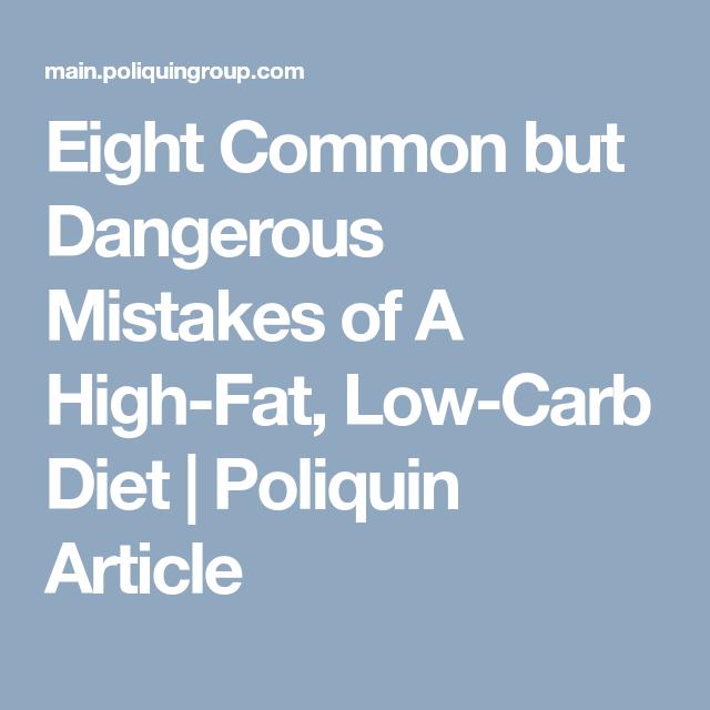 Ketosis Diets Dangerous