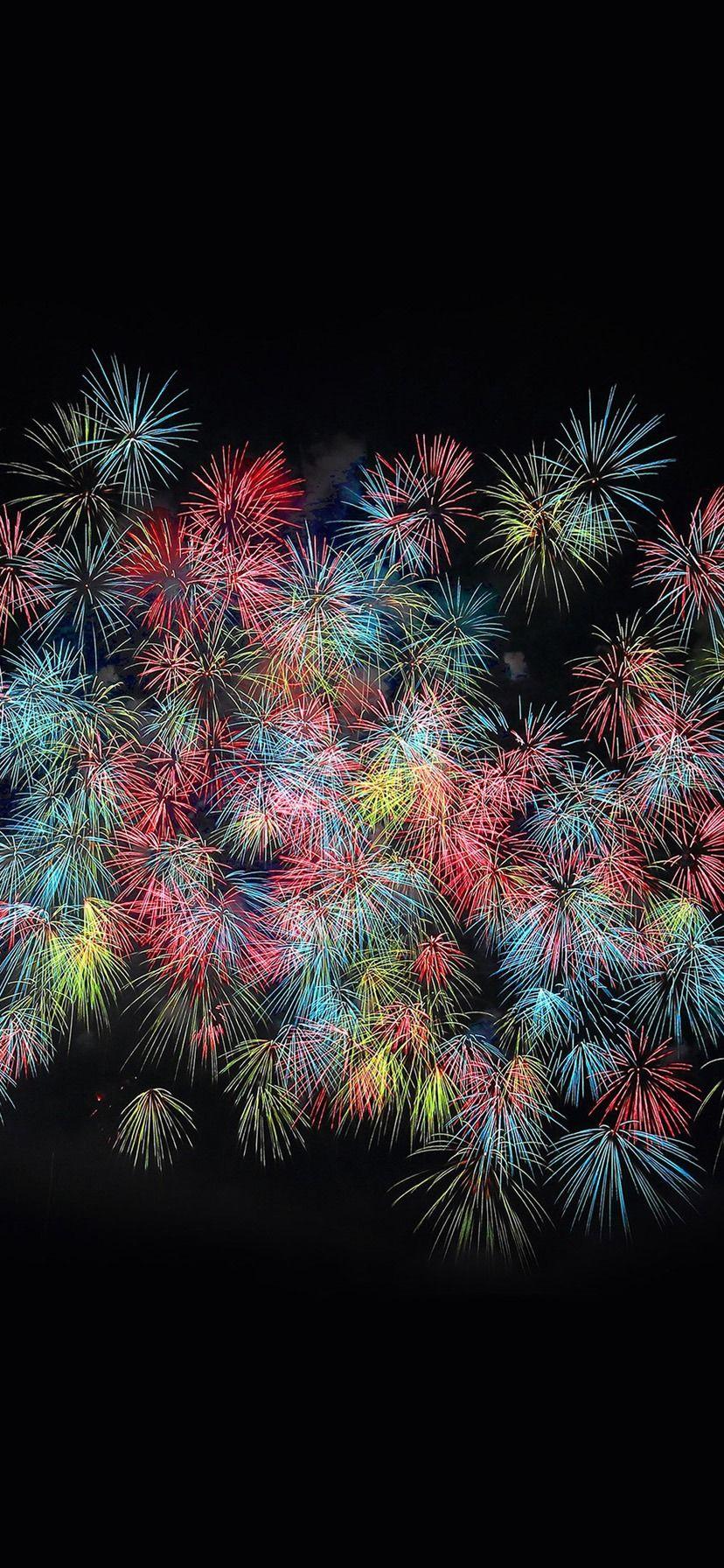 Fireworks art, Dark wallpaper, Iphone ...