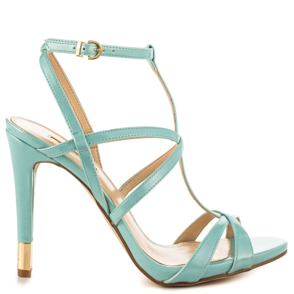 c6598047357 Pin by 向晚 on mint green heels
