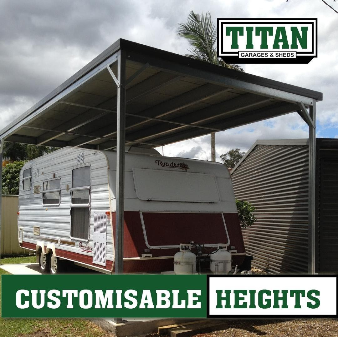 Skillion Carports Are Perfect For A Sleek Finish Something That Doesn T Need To Stand Out And Can Disappear Into The Background If You Have A Caravan Boat O