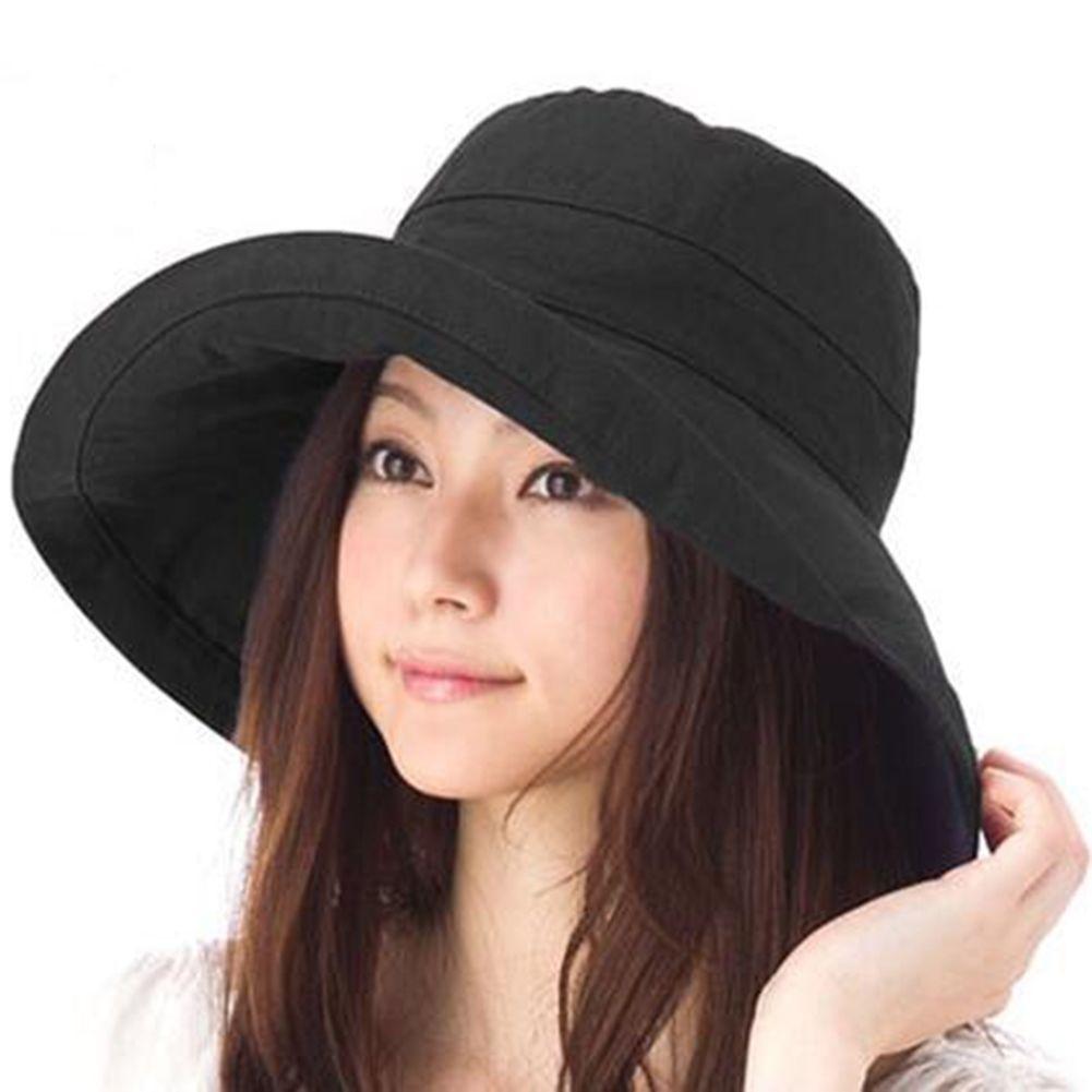 16c242155a7 Fashion Ladies Adjustable Cotton Sun Hat With Wide Brim (Holiday Beach)