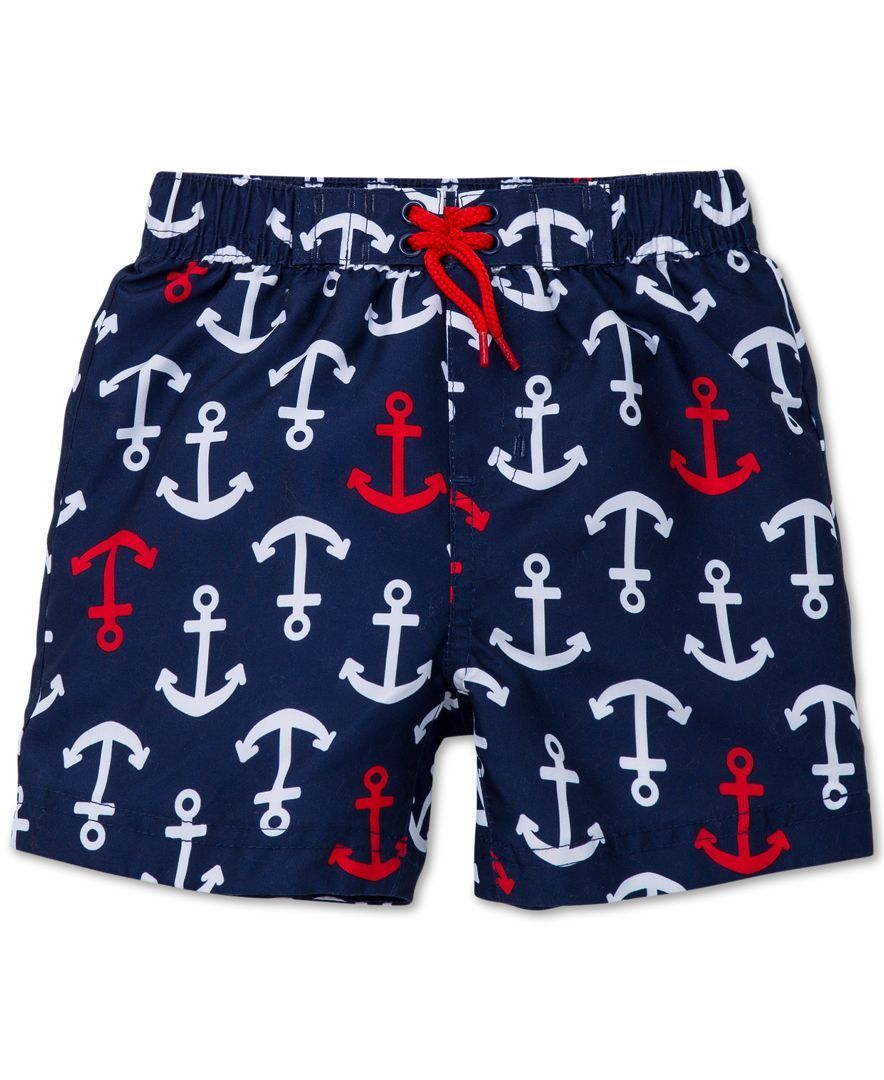 e7d999857e Little Me Baby Boys' Anchor Swim Trunks #babyboyswimsuit | baby boy ...