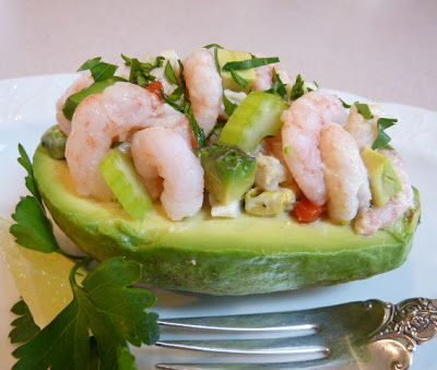 Shrimp and Avocado Salad | Wives with Knives