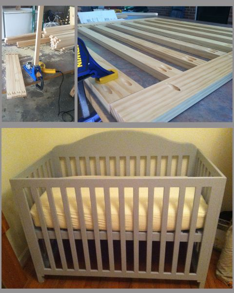 Baby Crib Project from the Kreg Owners\' Community | Projects to Try ...