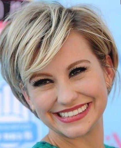 Short Hairstyles For Square Faces 50 Best Hairstyles For Square Faces Rounding The Angles  Pinterest