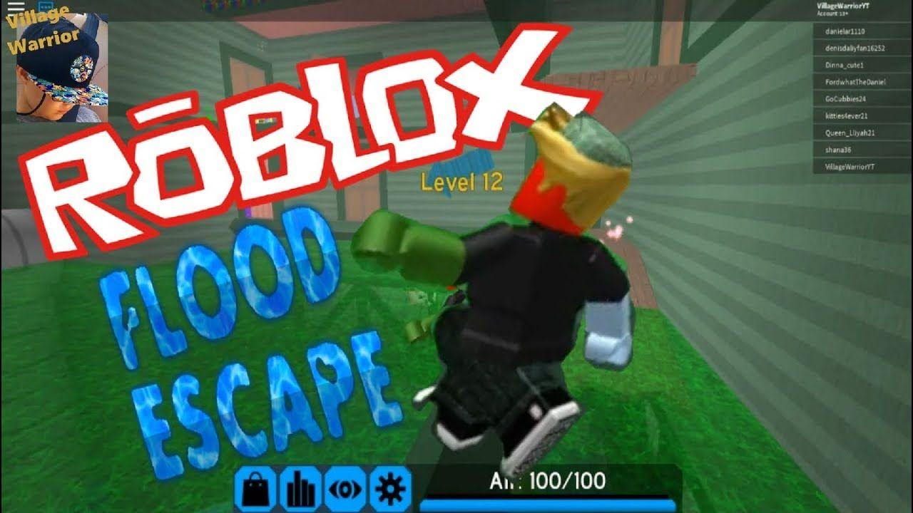 Roblox Flood Escape How To Use Dash Vw Got Skills Roblox Flood Escape Youtube Flood Skills Escape