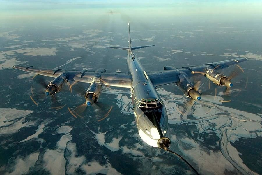 Titanium Rain Photo Russian military aircraft