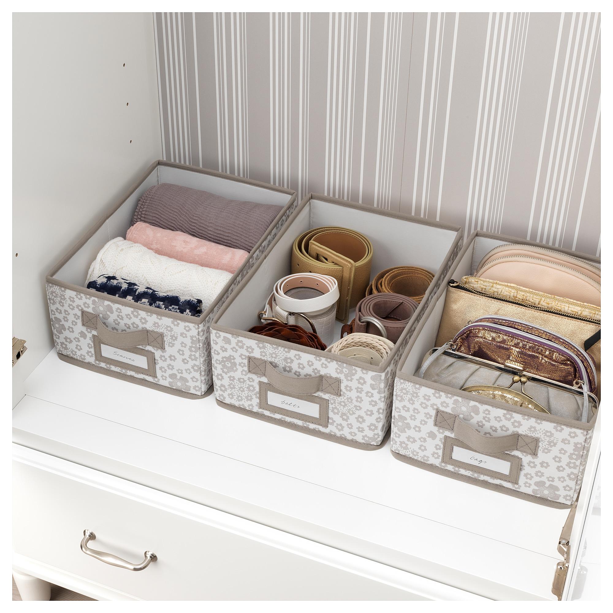 Storstabbe Box With Lid Beige Ikea Canada Ikea Decorative Storage Decorative Storage Boxes Ikea