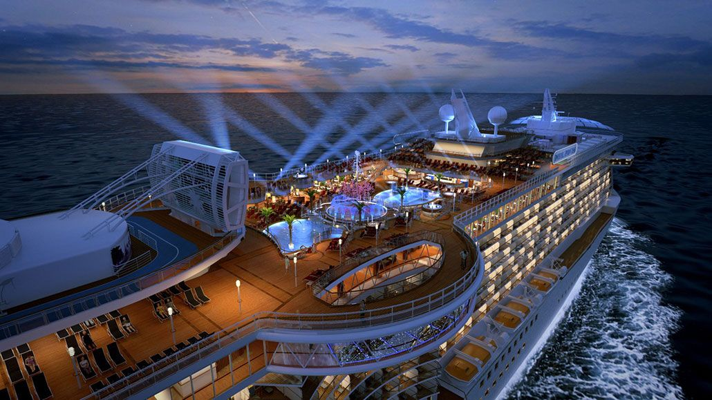 Royal Princess Top Deck Attractions New Royal Princess Features Revealed Popular Cr Princess Cruise Ships Royal Princess Cruise Ship Princess Cruise Lines