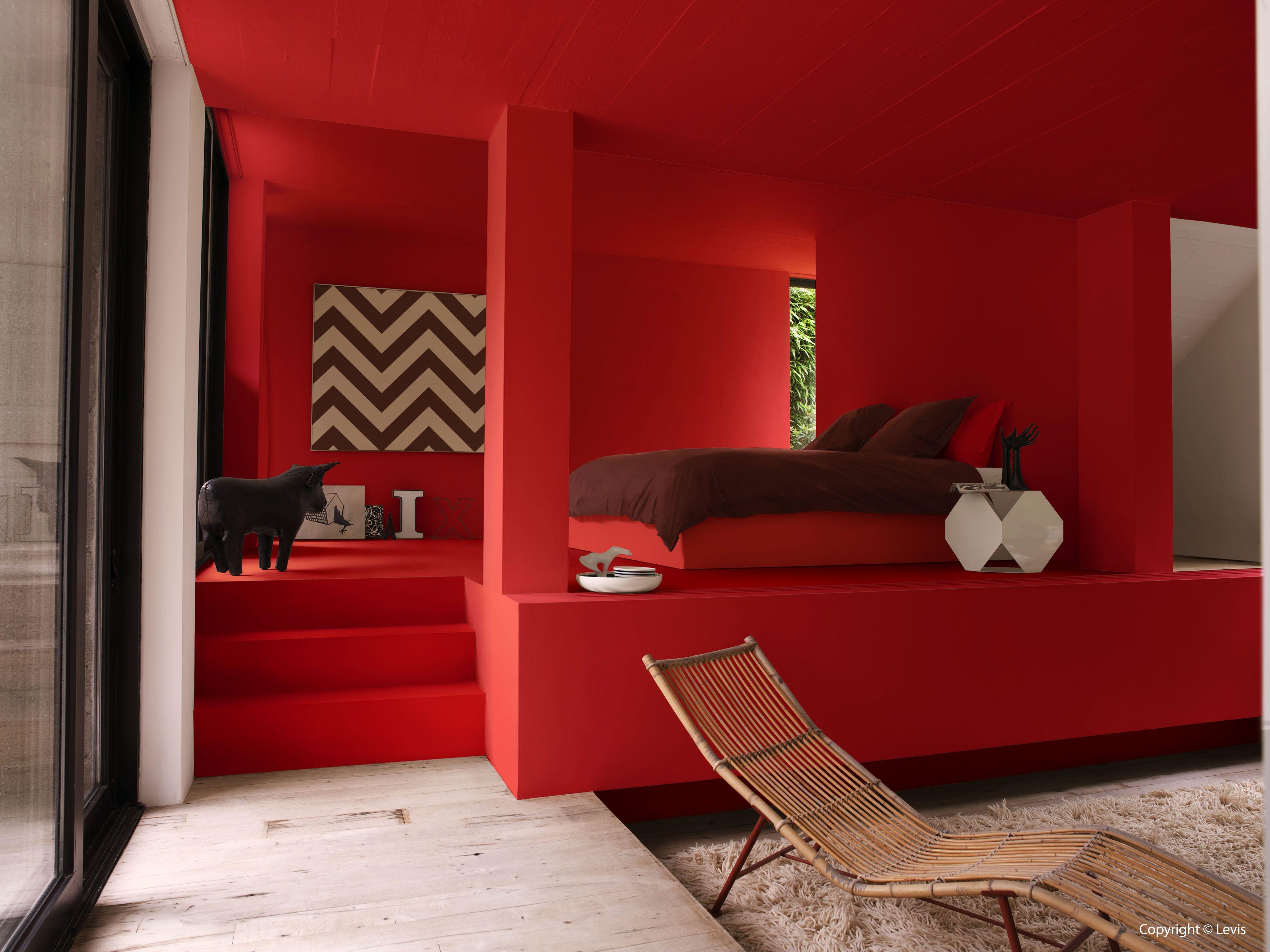 Slaapkamer slaapkamer kleurinspiratie