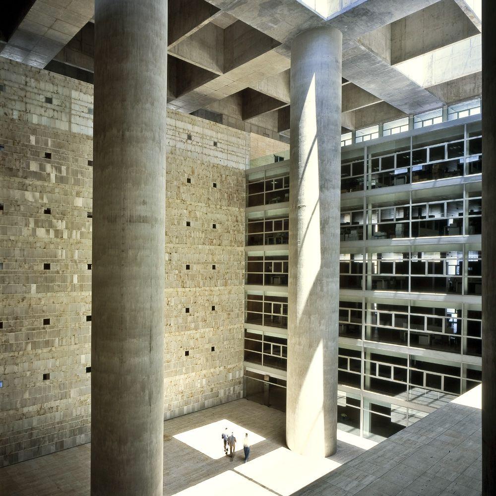 Alberto campo baeza banco granada architecture pinterest architecture and facades - Caja granada en madrid ...