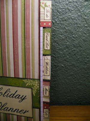 Calie's Creative Corner: Cards & a Holiday Planner