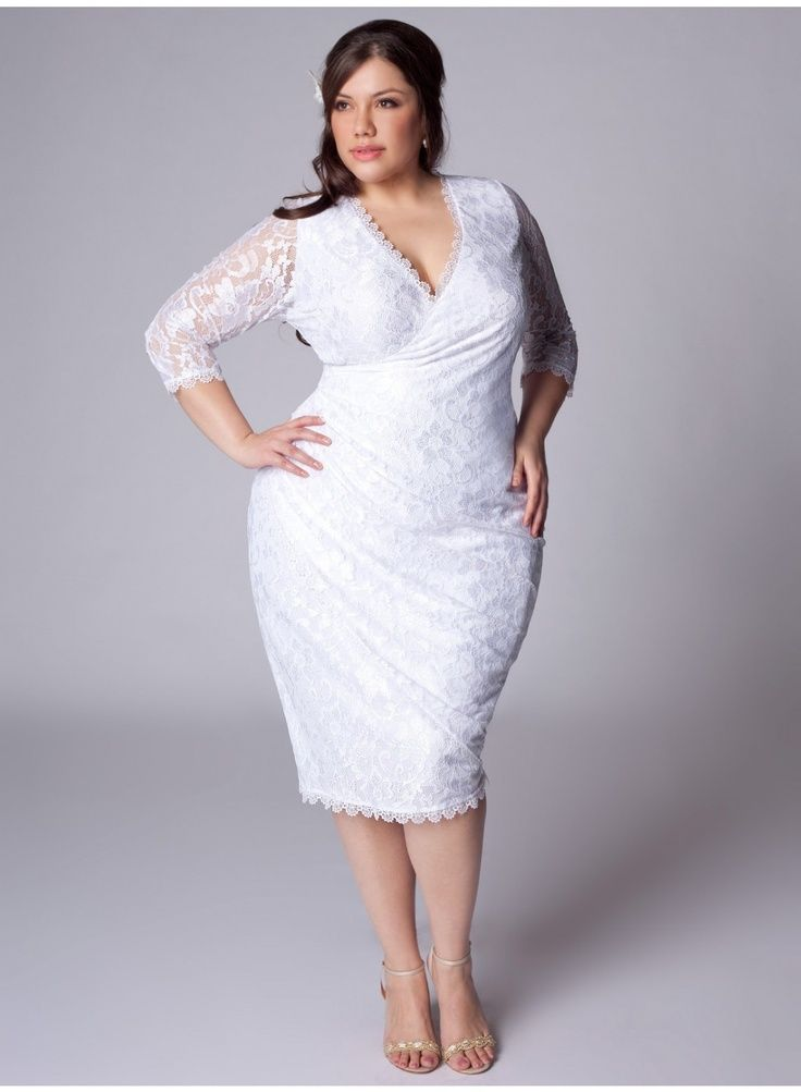 Fashion Friday} Top Plus Size Wedding Dresses with Sleeves | The ...