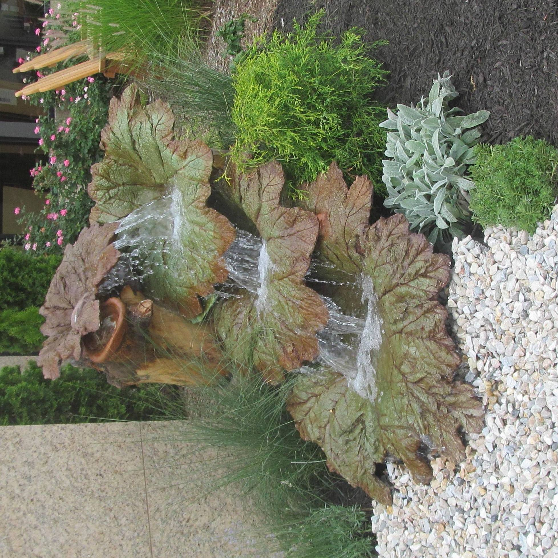 Cement Garden Art: Leaf Mold Project Day Form Fishstone