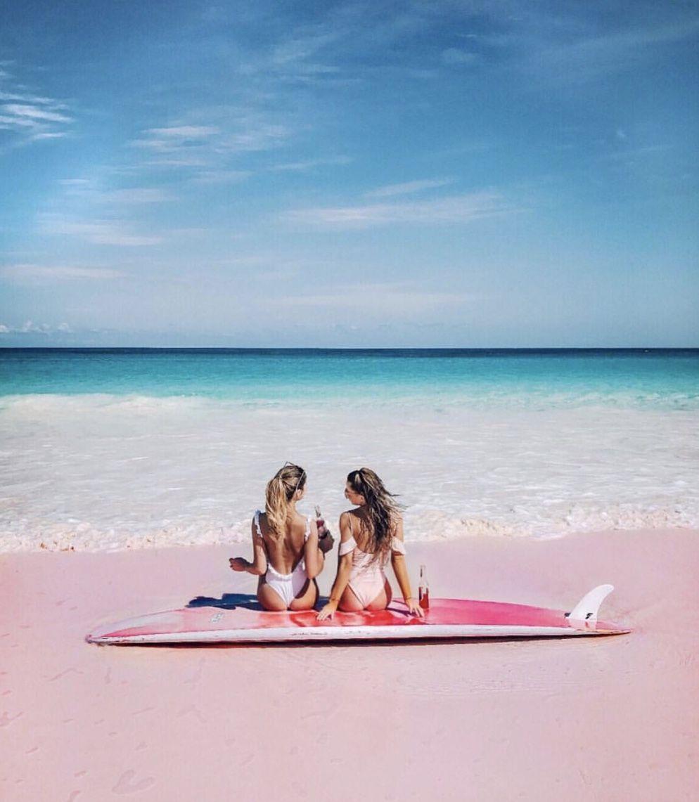 Pink Sands Beach Harbor Island Bahamas Travel Goals Bahamas Travel Harbor Island Harbor Island Bahamas