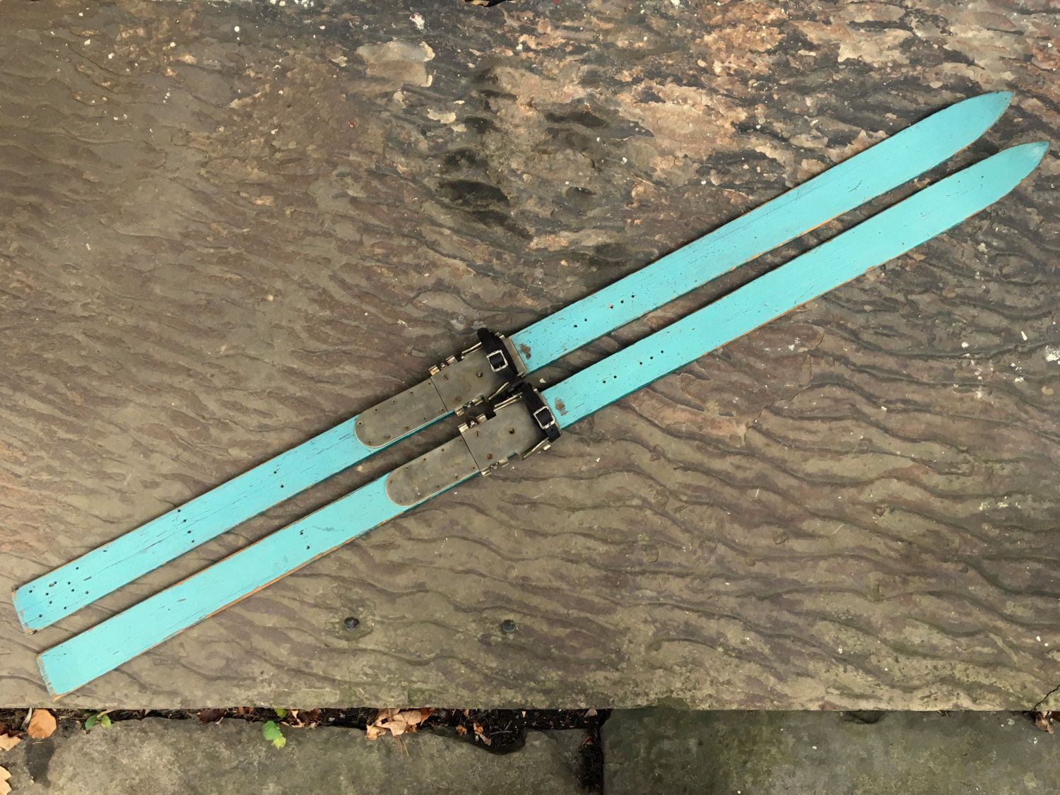 Your Place To Buy And Sell All Things Handmade Wooden Cross Snow Skiing Turquoise Painting