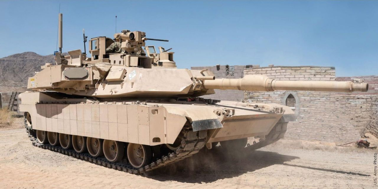 M1 Abrams SEP3 con Trophy Active Protection Systems (APS)