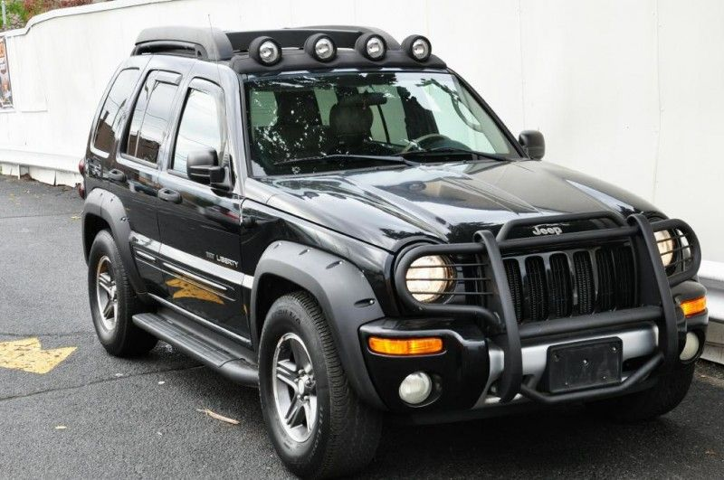 Leather Seats 2003 Jeep Liberty Renegade 4 4 For Sale Jeep