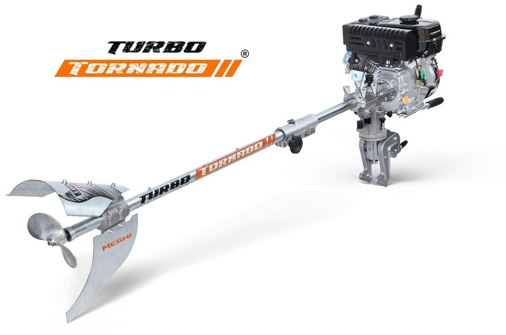 Engine not included Longtail Outboard Turbo Bisected 2,2m  9//13HP Gas.