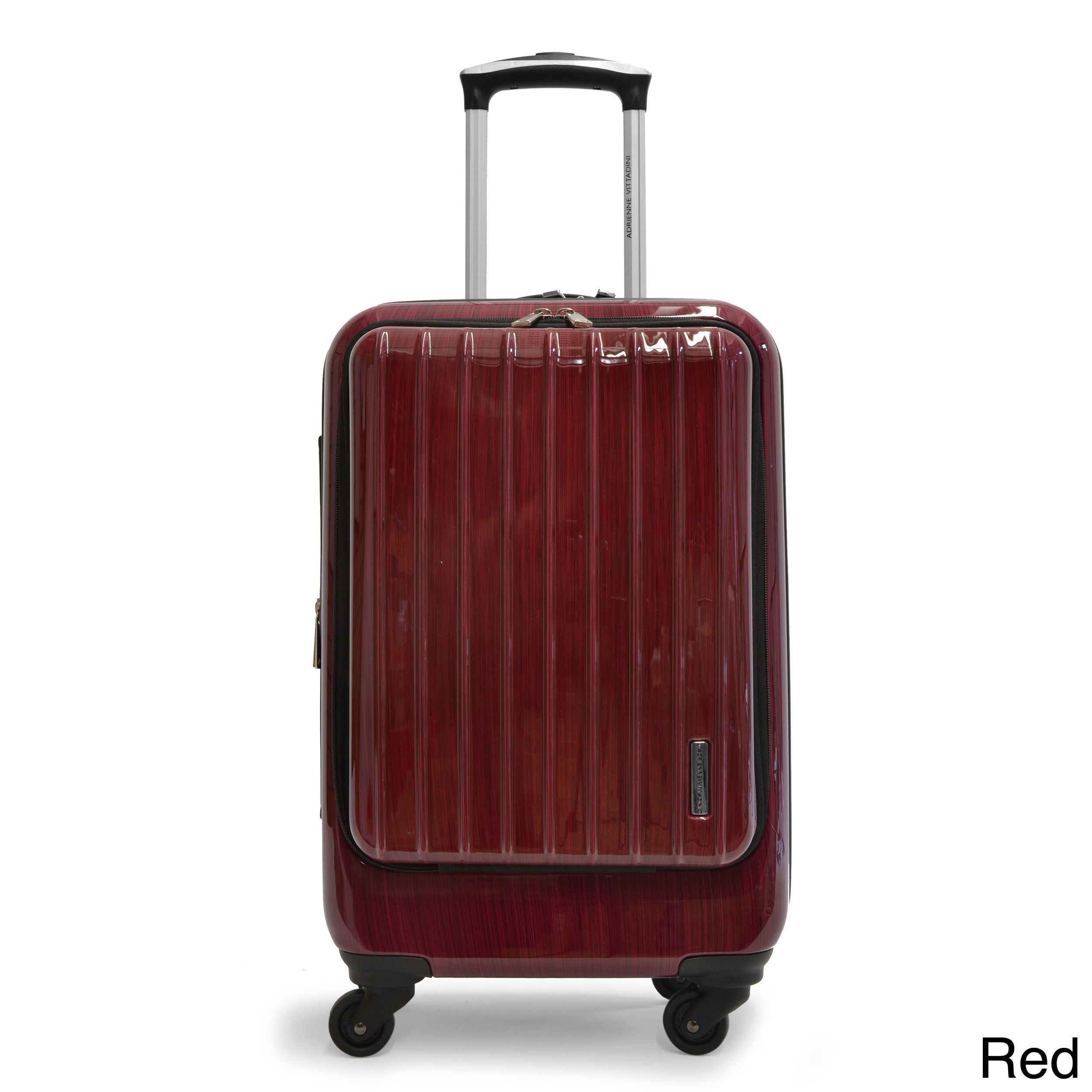 7ee8baa94513 Adrienne Vittadini 21-inch Expandable Carry-on Hardside Spinner ...