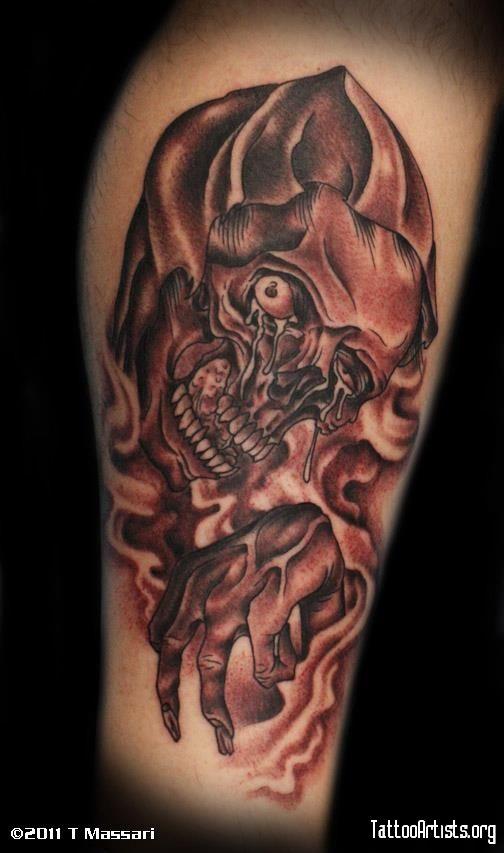 Grim Reaper Tattoo Tattoo Ideas Tatouage Tatouage Gothique