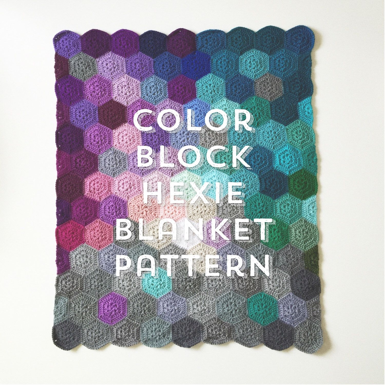 Colour block hexie crochet blanket pattern by oliveandpickles on colour block hexie crochet blanket pattern by oliveandpickles on etsy https bankloansurffo Image collections