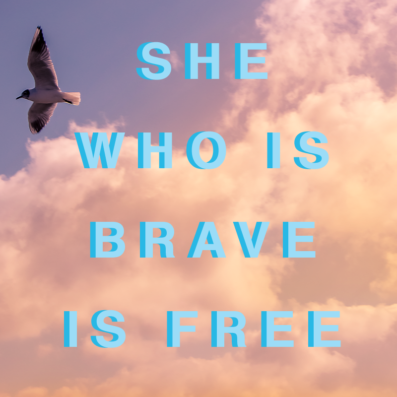 #MondayMotivation | Be brave and take on the week.