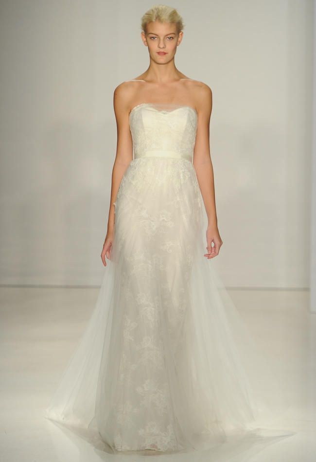 Christos Wedding Dresses Are Romantic and Effortless for Fall 2015 | TheKnot.com