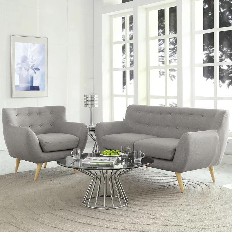 Langley Street Meggie 2 Piece Living Room Set In 2020 Modern Style Living Room Small Living Room Design Living Room Decor