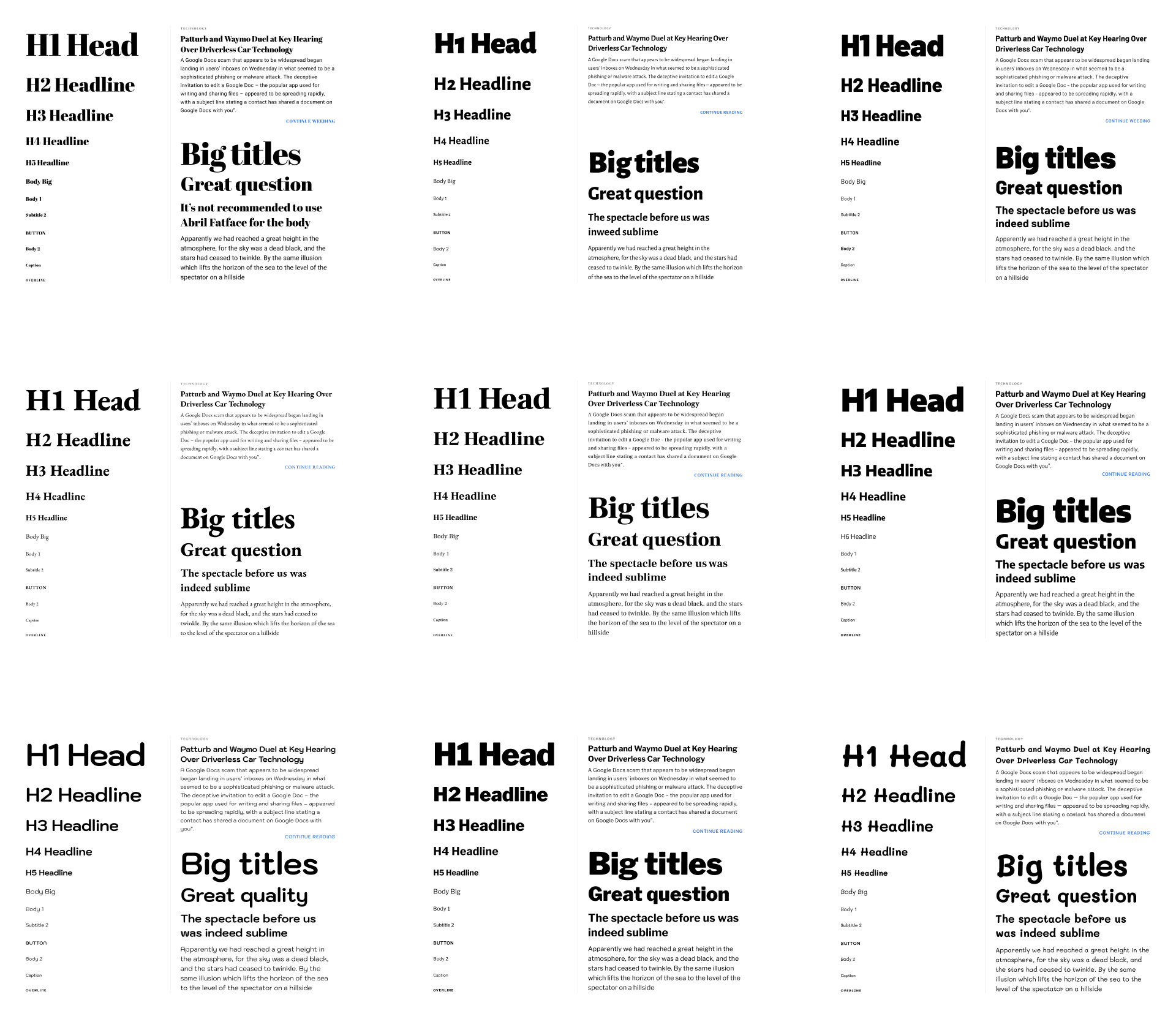 Fonts Design Typography Css Styles Figma Fonts Design Typography Design