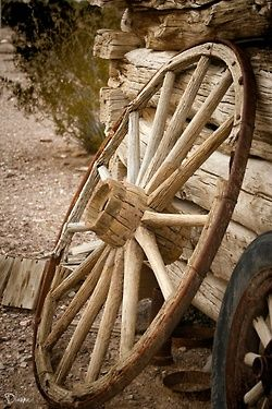 Wish I had that wheel that was left in Winchester!