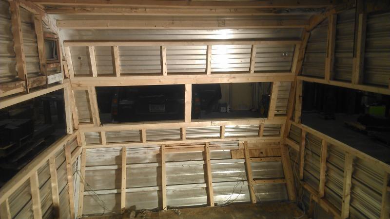 Closed Cell Spray Foam Insulation For Camper Remodel Remodeled Campers Travel Trailer Remodel Vintage Camper Remodel