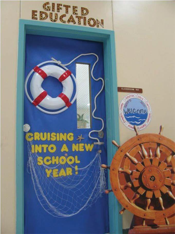 New Year Classroom Decoration Ideas ~ Nautical classroom decorations cruise into a new year