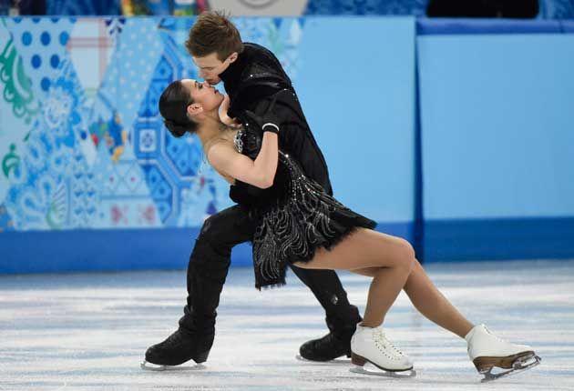 Elena Llinikiah and Nikita Katsalapov