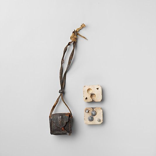 Bullet Mold and Case  Date: 19th century Culture: Tibetan    could pass as an 15th french mold...