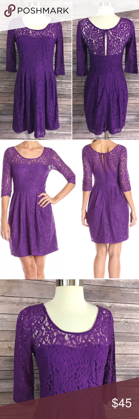 Lace dress size 16 measurements