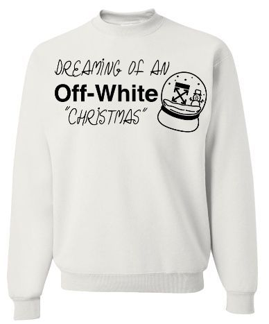 Off White Christmas Hoodie.Off White Christmas Products In 2019 White Christmas