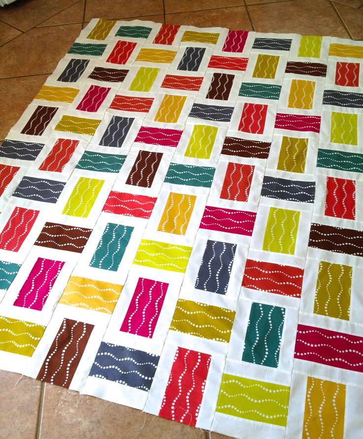 Crossed Paths: A Rail Fence Quilt Tutorial.. by acraftyfox..To make this quilt…