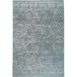 Photo of benuta Trends Flachgewebeteppich Tosca Blau 290×400 cm – Vintage Teppich im Used-Look