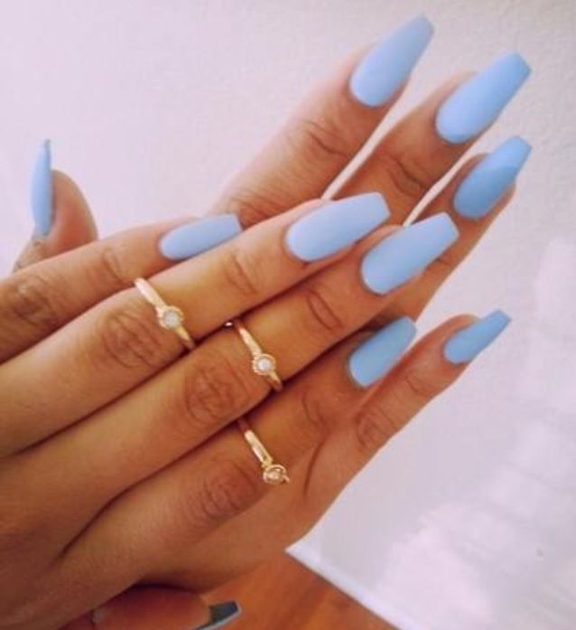 Neon blue | my relief | Pinterest | Nail inspo, Acrylic nail art and ...