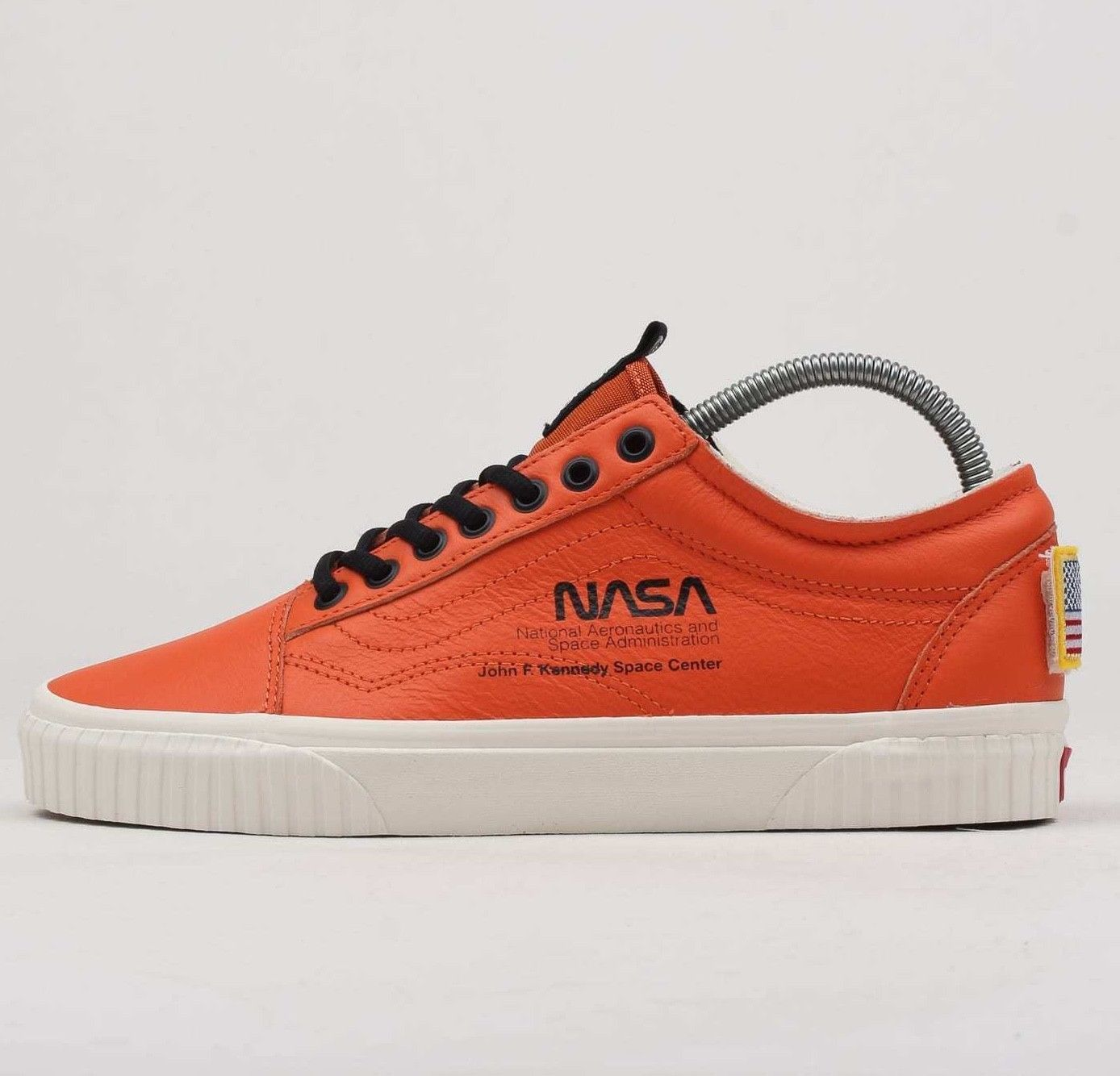 Vans x NASA Old Skool Space Voyager Firecracker VN0A38G1UPA1 Orange Mens  Shoes 0e5274d41