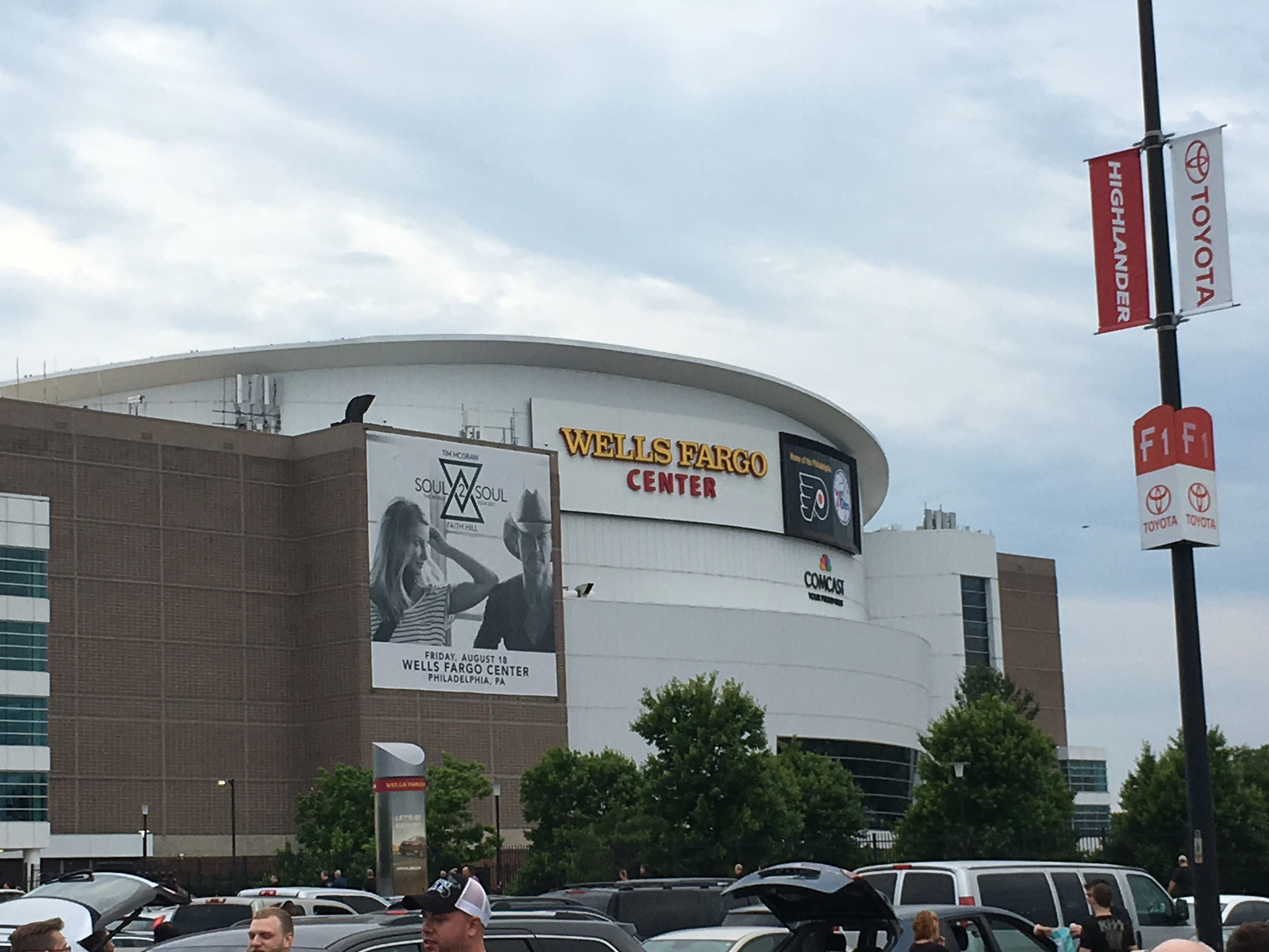 Wells Fargo Center Philadelphia Pa Been There Done That Wells