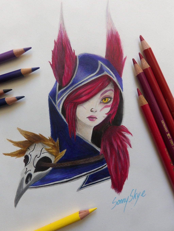 Рисунки лига легенд как нарисовать карандашом