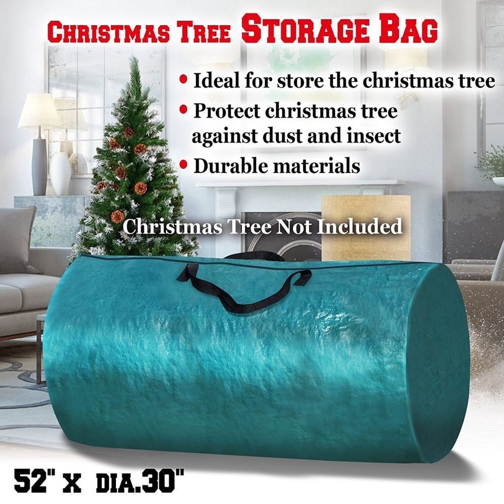 Christmas Tree Storage Bag Large Carry Seasonal Holiday Organizer With Zipper Strongcamel C Holiday Cleaning Christmas Tree Storage Artificial Christmas Tree