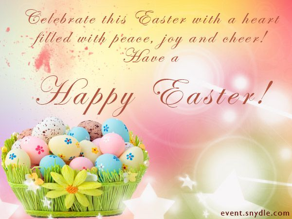 20 Best Easter Greetings | Happy easter greetings, Easter ...