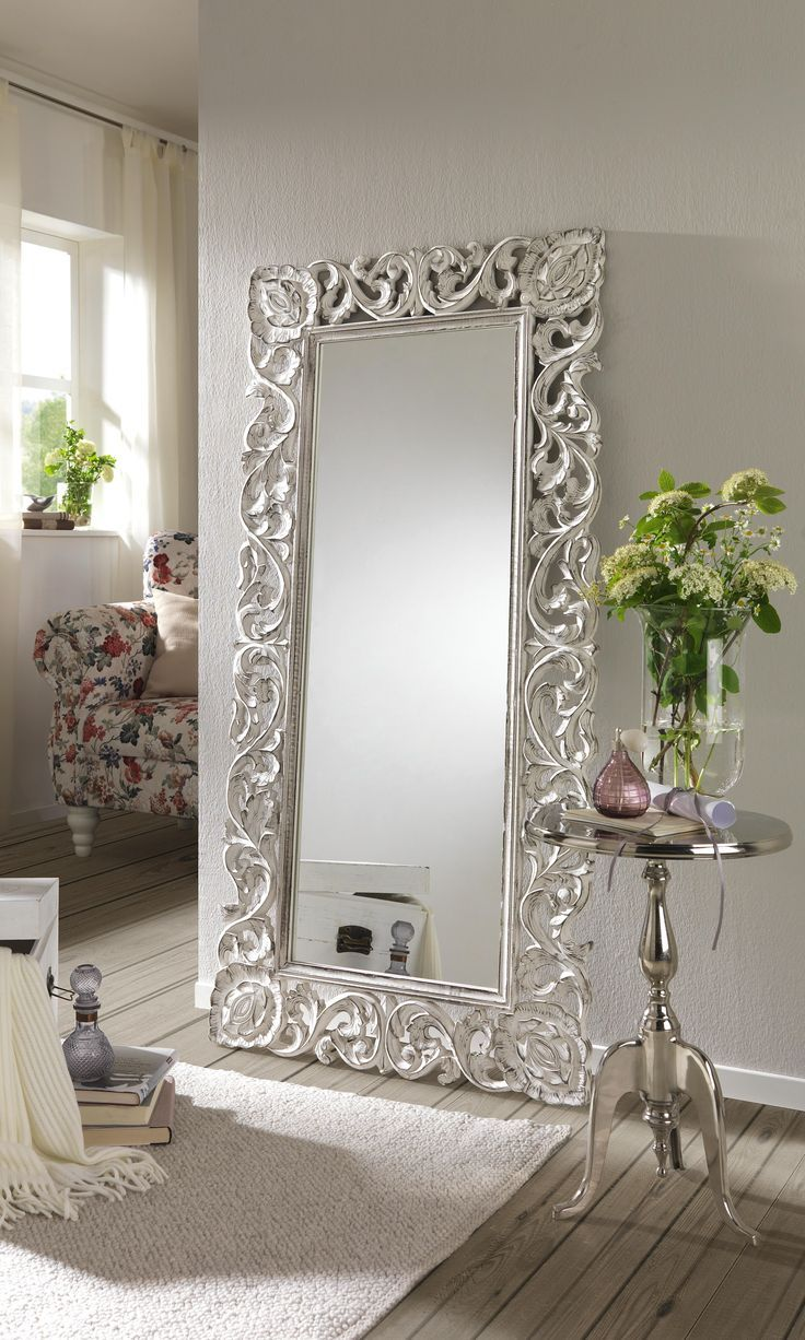 Mirrored Frame Wall Mirror Mirror wall bedroom, Lighted