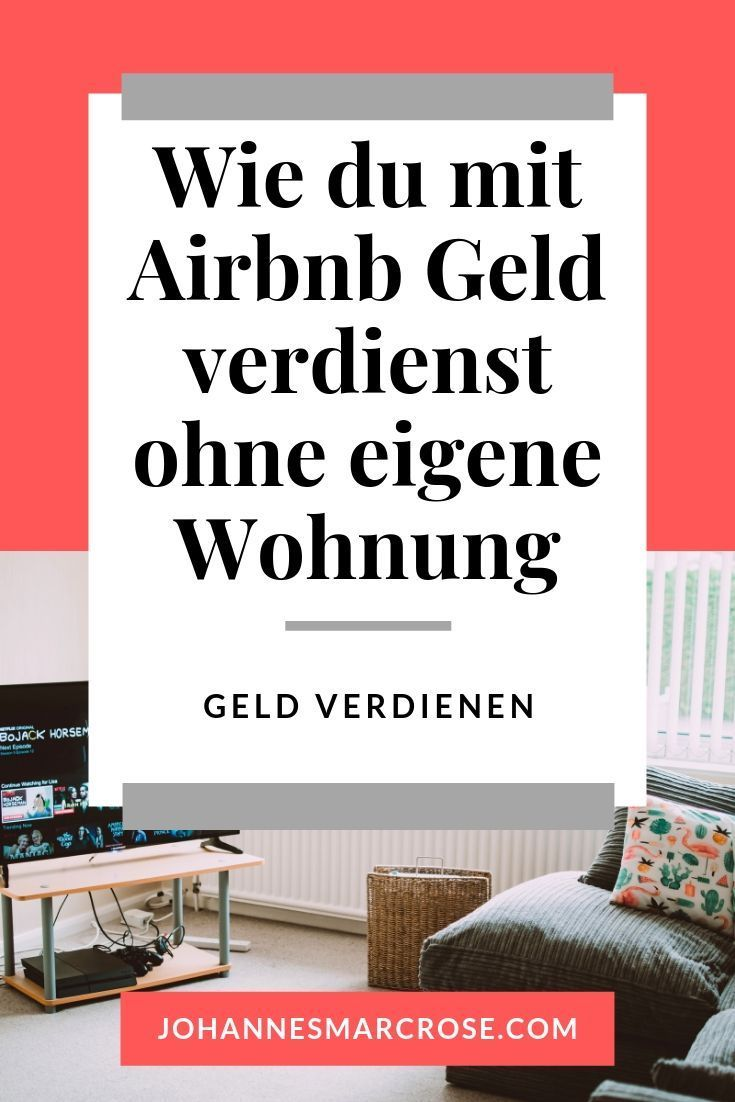 Airbnb Geld Verdienen