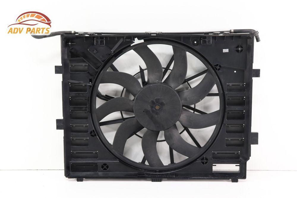 A 2011 2017 Porsche Cayenne 958 3 6l Radiator Cooling Fan Motor W Shroud Oem Fan Motor Cars Trucks Motor