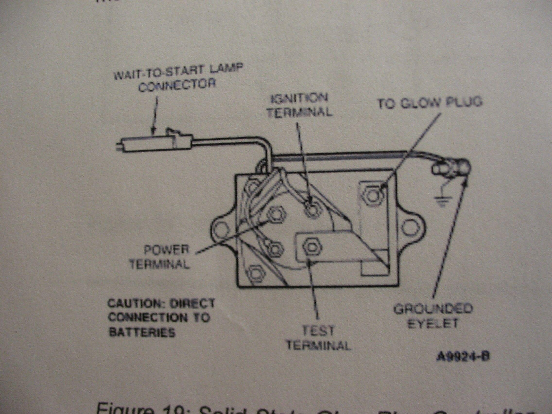 Beru Glow Plug Controller Wiring Diagram In 2020 Plugs Wire Glow