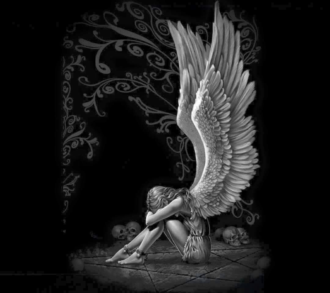 Hada Triste Hadas Hadas Pinterest Sad Angel Angel Y Art